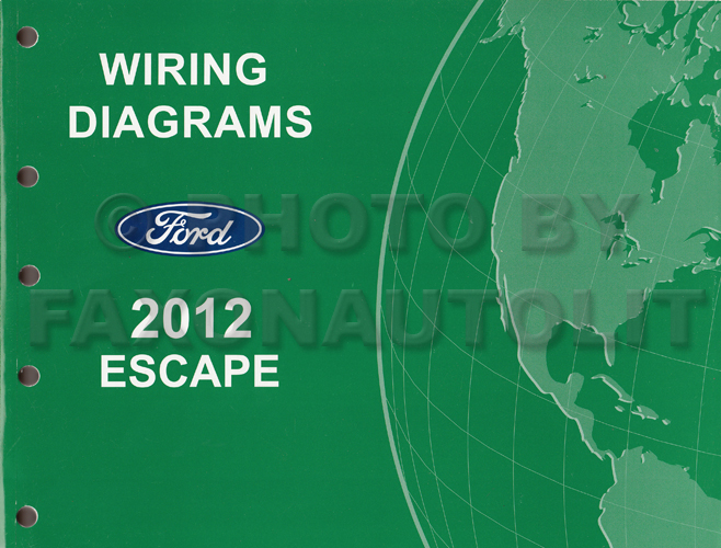 2012 ford escape gas wiring diagram manual original rh faxonautoliterature com ford escape wiring diagram 2005 2013 ford escape wiring diagram