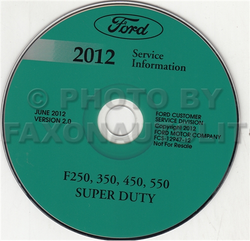 2012 Ford Super Duty CD