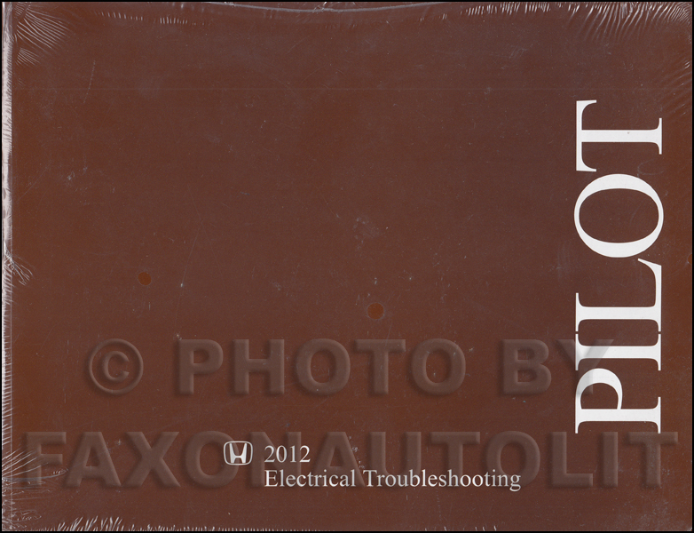 2012 Honda Pilot Electrical Troubleshooting Manual Original