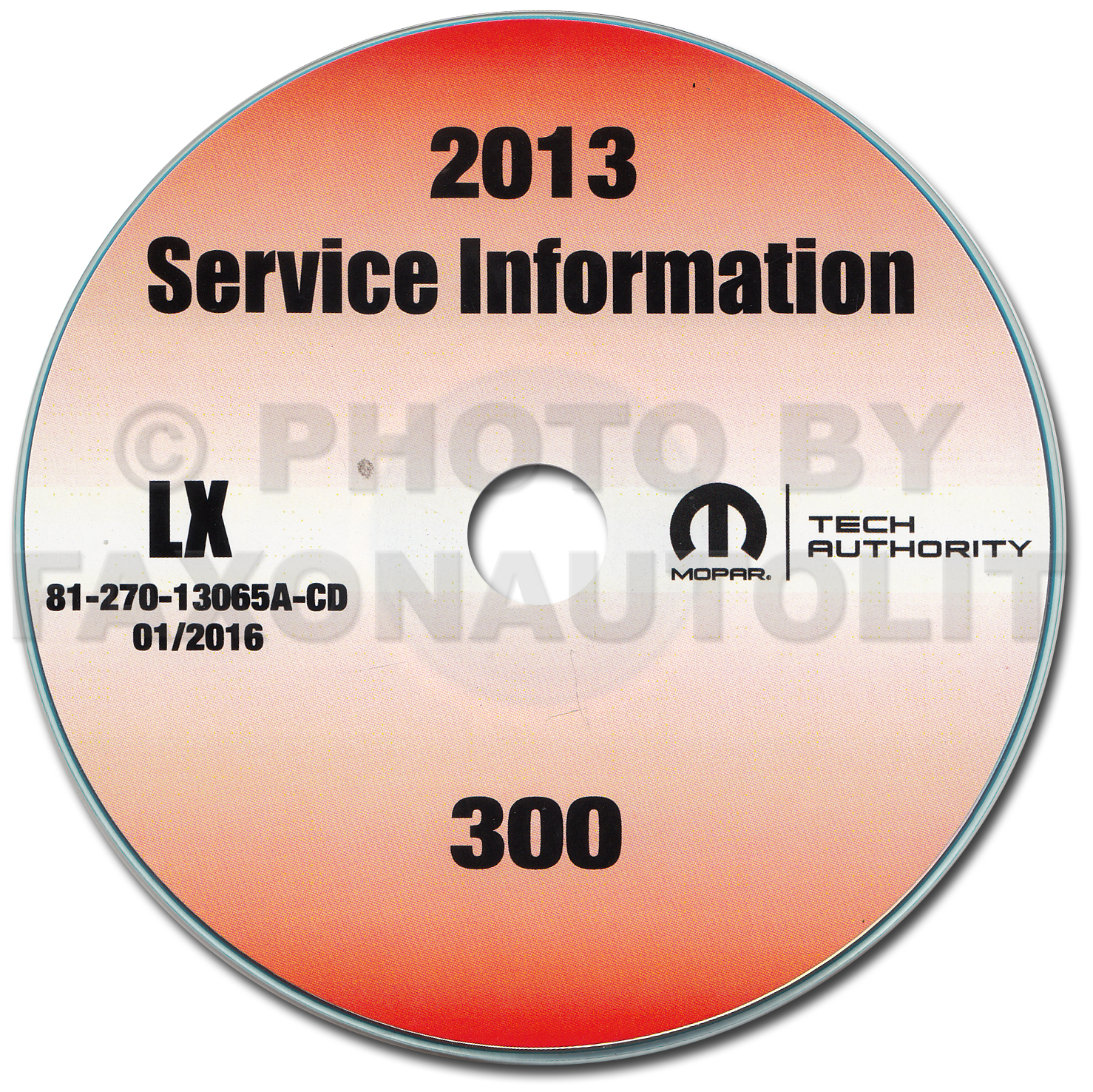 2013 Chrysler 300 Repair Shop Manual CD-ROM