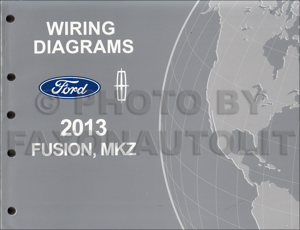 2013 Ford Fusion Repair Shop Manual On Cd