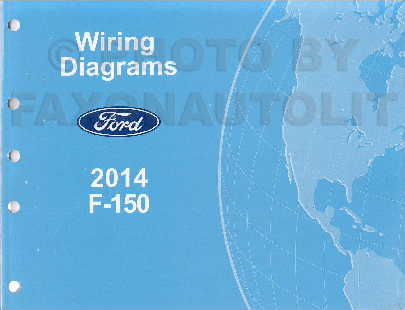 2014 Ford F-150 Wiring Diagram Manual Original