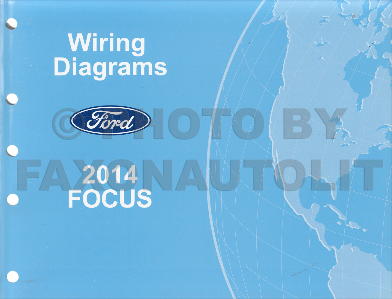 2014 Ford Focus Wiring Diagram Manual Original