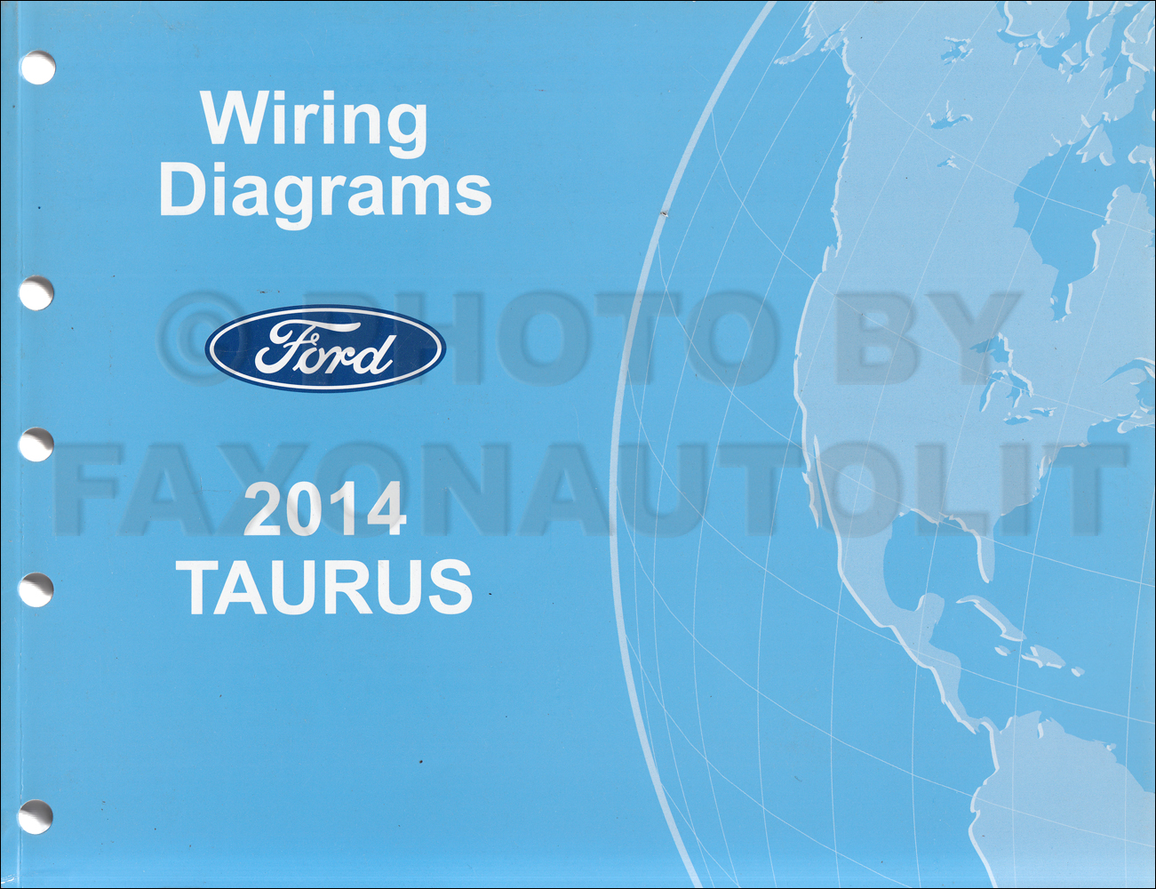2014 Ford Taurus Wiring Diagram Manual Original
