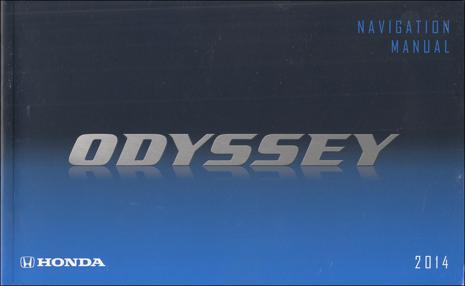 2014 Honda Odyssey Owner's Manual Original