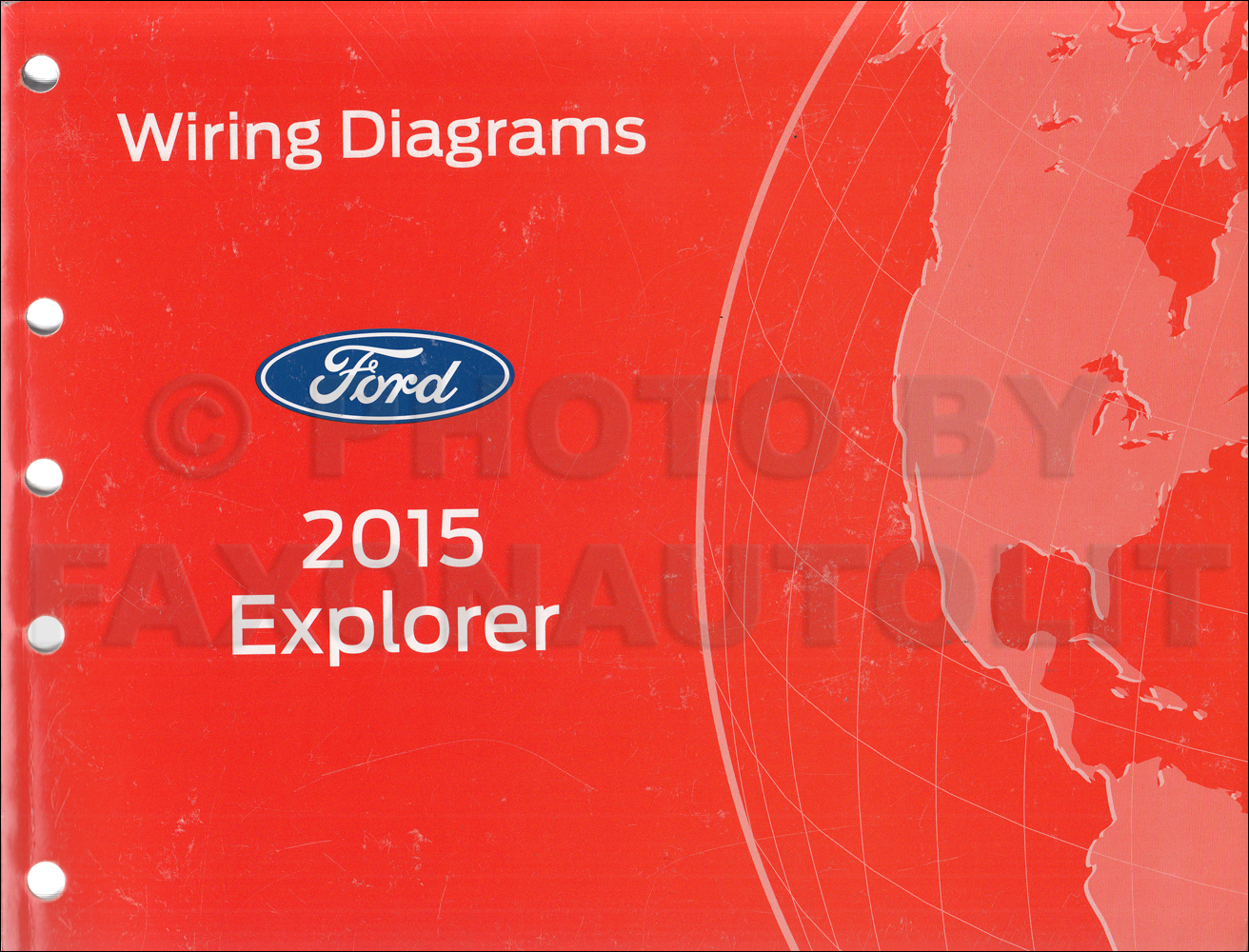 2015 Ford Explorer Wiring Diagram Manual Original | 2015 Ford Explorer Wiring Diagrams |  | Faxon Auto Literature