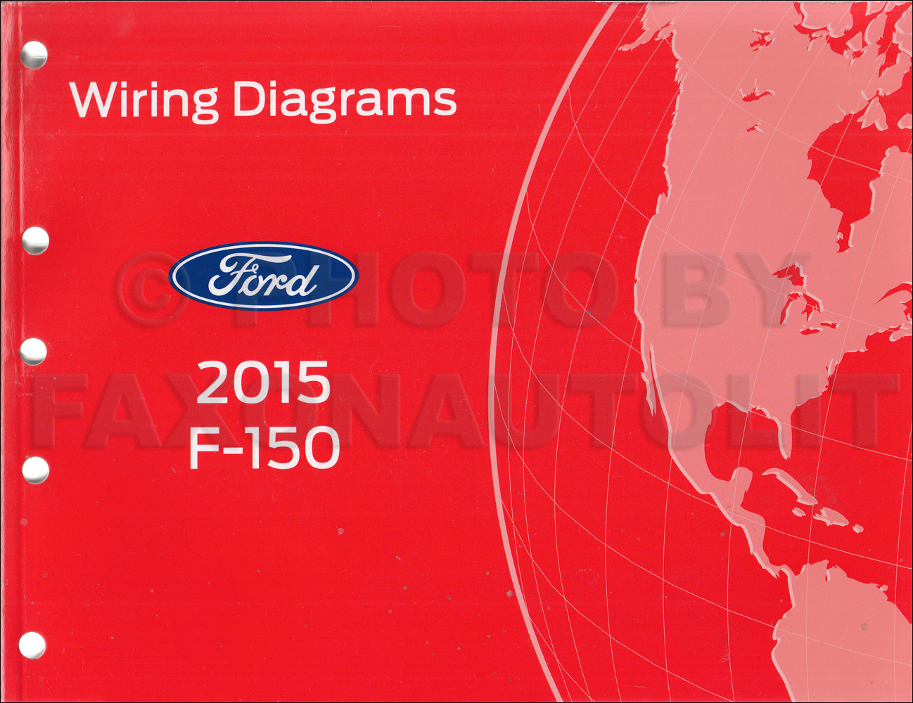 2015 Ford F-150 Wiring Diagram Manual Original