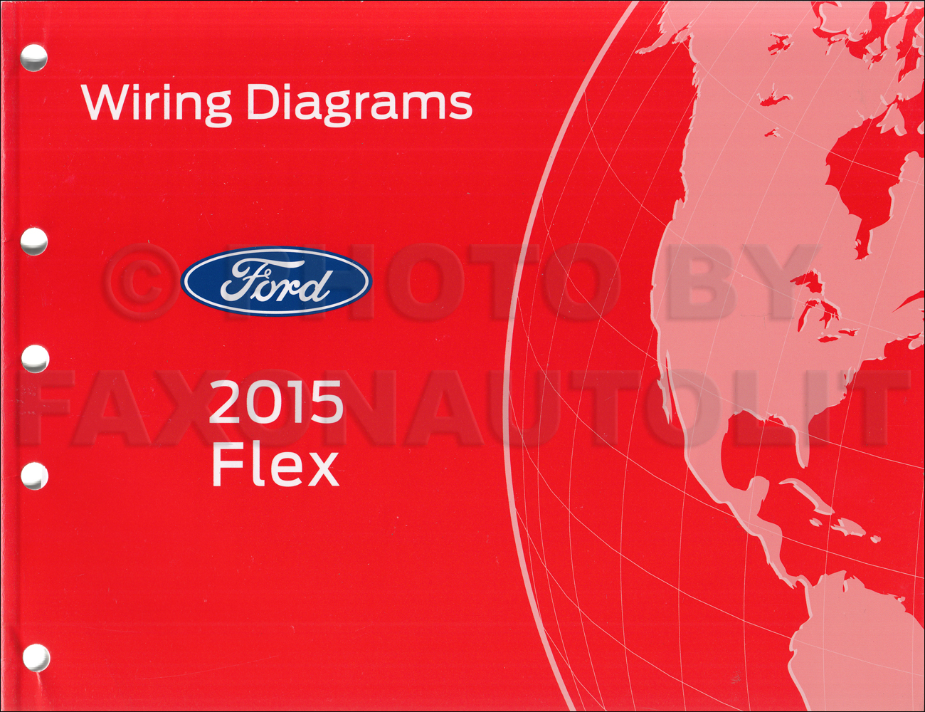 2015 Ford Flex Wiring Diagram Manual Original