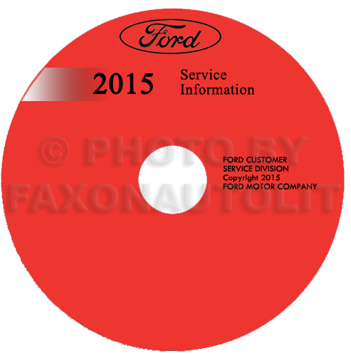 2015 Ford Fiesta Repair Shop Manual on CD-ROM Original