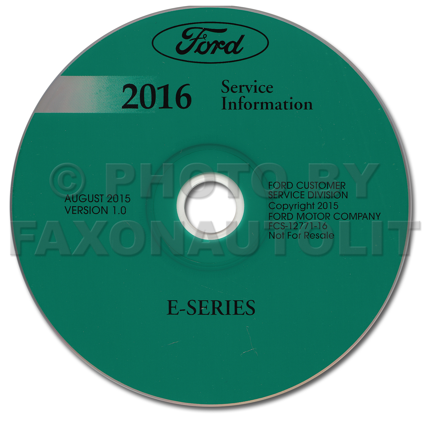 2016 Ford E-350 and E-450 Repair Shop Manual on CD-ROM Original Econoline