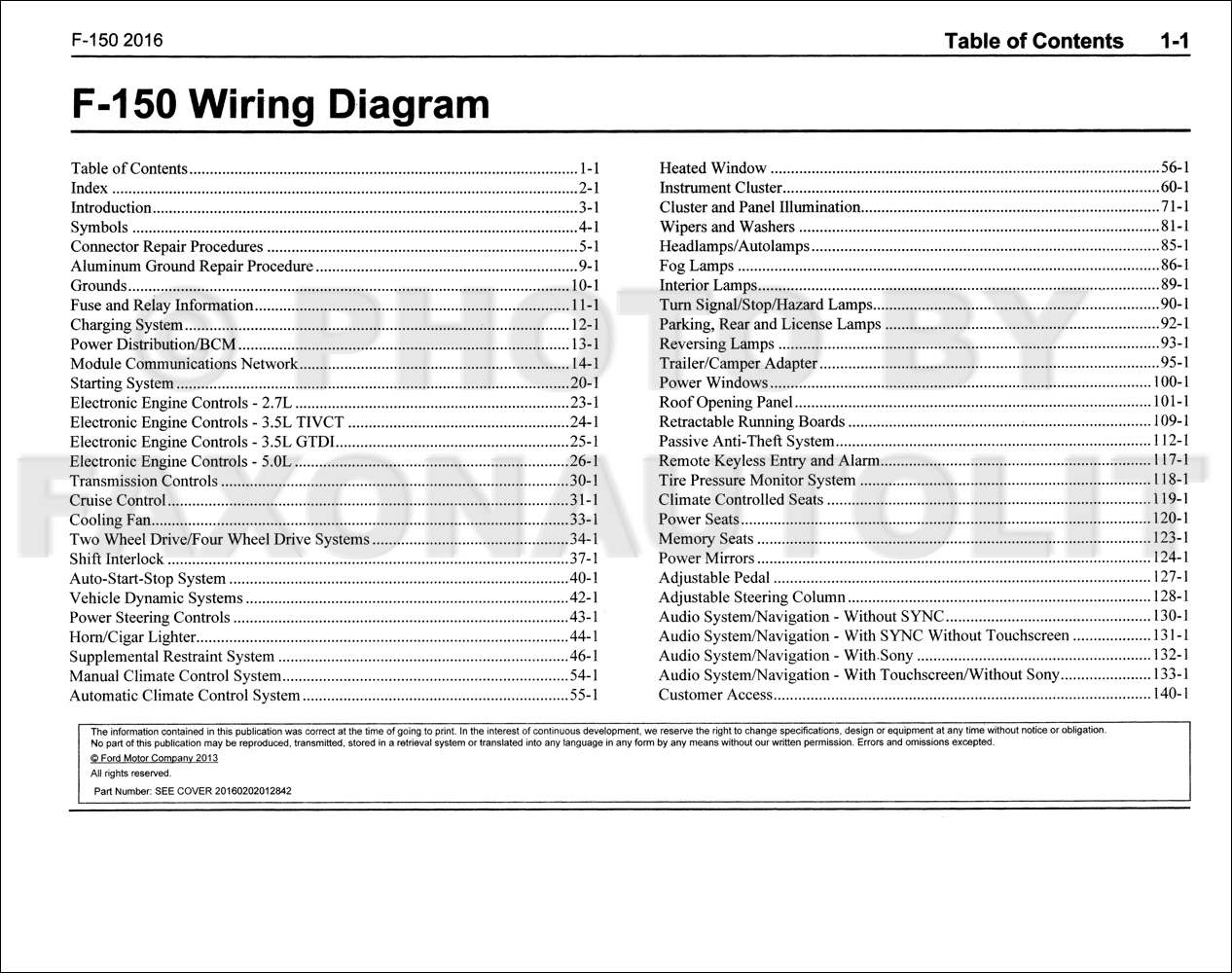 [QNCB_7524]  2016 Ford F-150 Wiring Diagram Manual Original | 2016 Ford F 150 Wiring Harness Diagram |  | Faxon Auto Literature