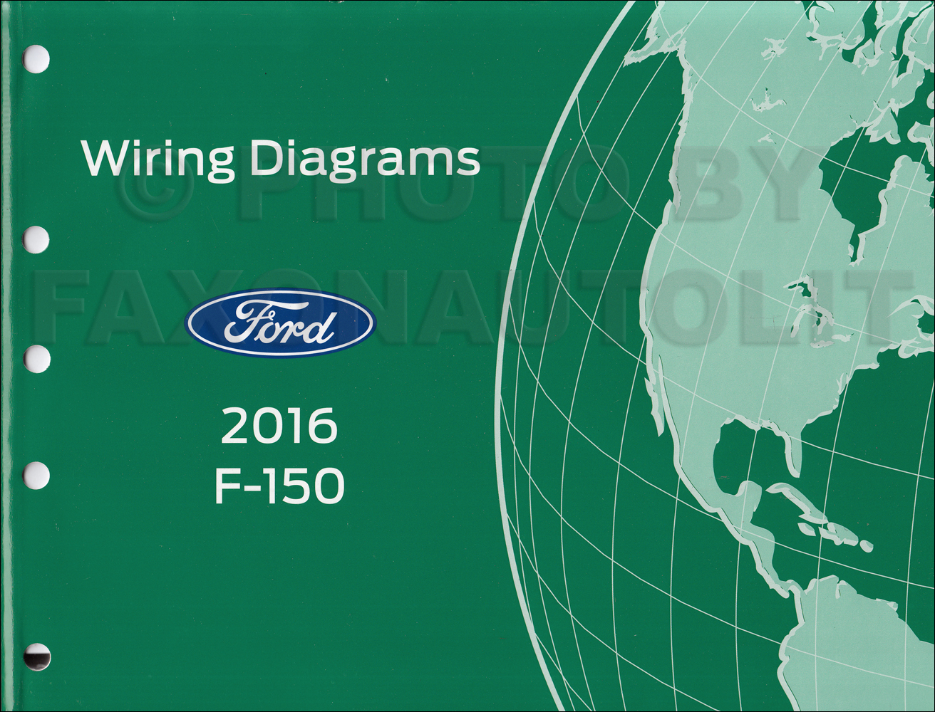2016 Ford F-150 Wiring Diagram Manual Original