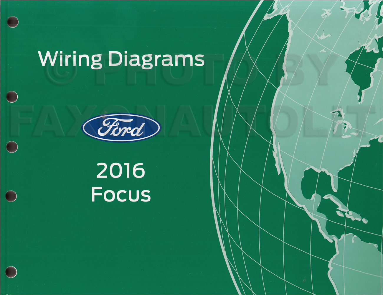 2016 Ford Focus Wiring Diagram Manual Original