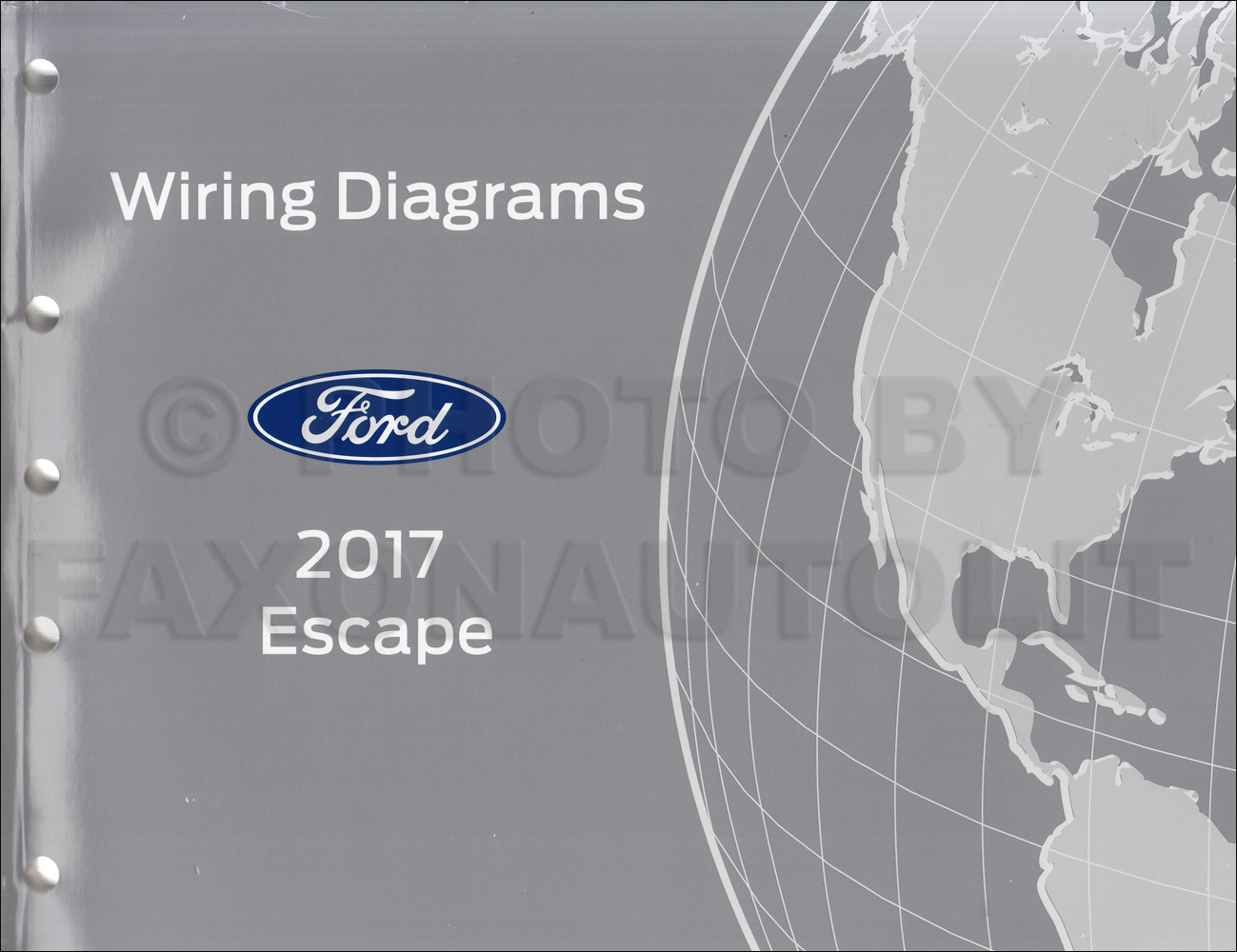 2017 Ford Escape Wiring Diagram Manual OriginalFaxon Auto Literature