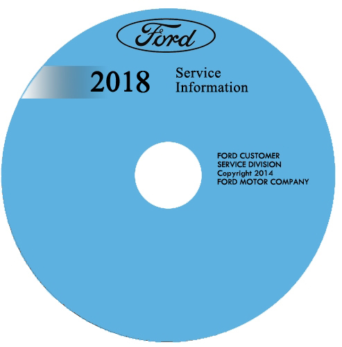 2018 Ford EcoSport Repair Shop Manual on CD-ROM Original
