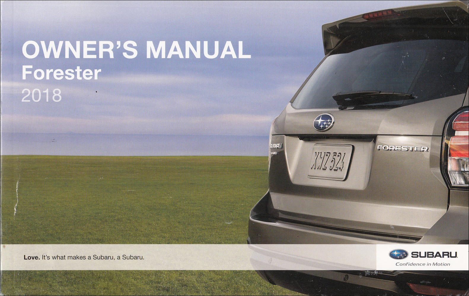 2018 Subaru Forester Owner's Manual Original