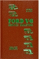1932-1937 Ford Reprint Service Bulletins Repair Manual Hardbound