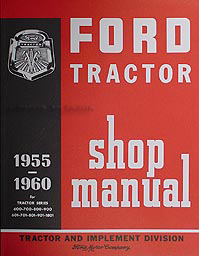 1957-1960 Ford 671 681 871 881 Manual & Brochure Set Reprint