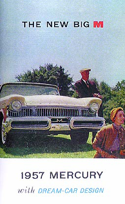 1957 Mercury Owner's Manual Reprint