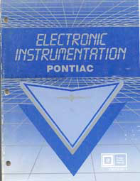 1983-1985 Pontiac Electronic Instrumentation Gages Training Manual Original