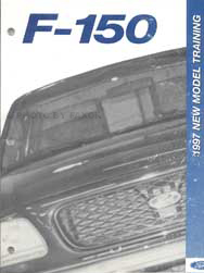 1997 Ford F-150 Pickup Truck Training Reference Book