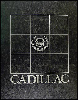 1983 Cadillac Shop Manual Original