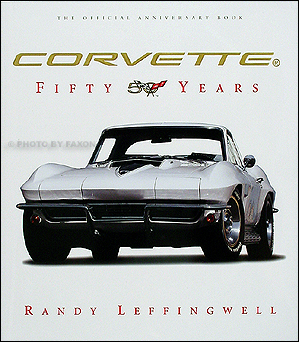 Corvette 50 Years Book: history & 450 photos Hardcover
