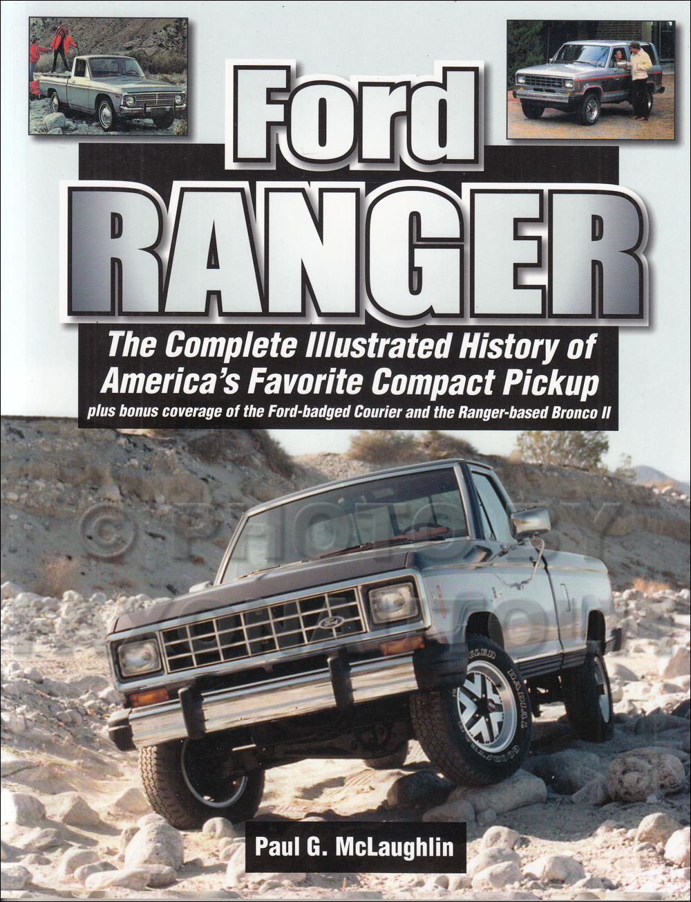 History of the Ford Ranger and Bronco II