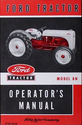 1948-1952 Ford 8N Tractor set of 3 Reprint Sales Brochures