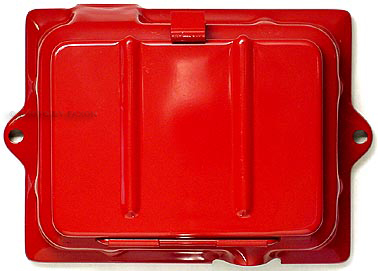 1948-1952 Red Battery Cover Reproduction for Ford 8N Tractor