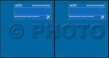 1983-1988 BMW 318i 325i/e/es M3 Repair Manual 2 Volume Set Original