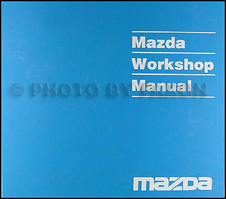 2001 Mazda MPV Repair Manual Original