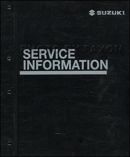 2006 Suzuki Aerio Repair Manual Original