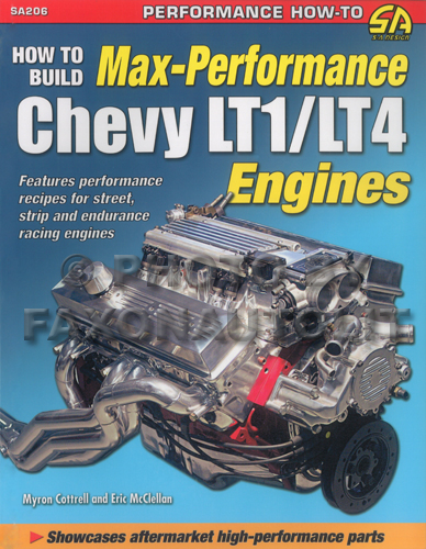 1992-1997 How to Build Max-Performance Chevy LT1/LT4 Engines