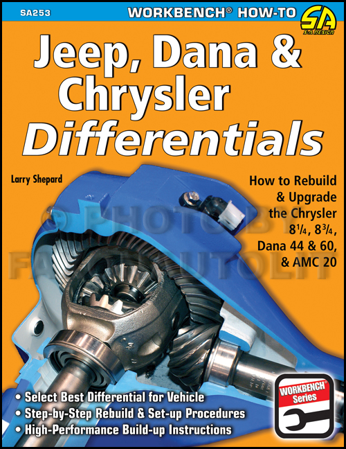 How to Rebuild and Upgrade Jeep/AMC 20, Dana 44 60 & Chrysler Differentials Rear Axle