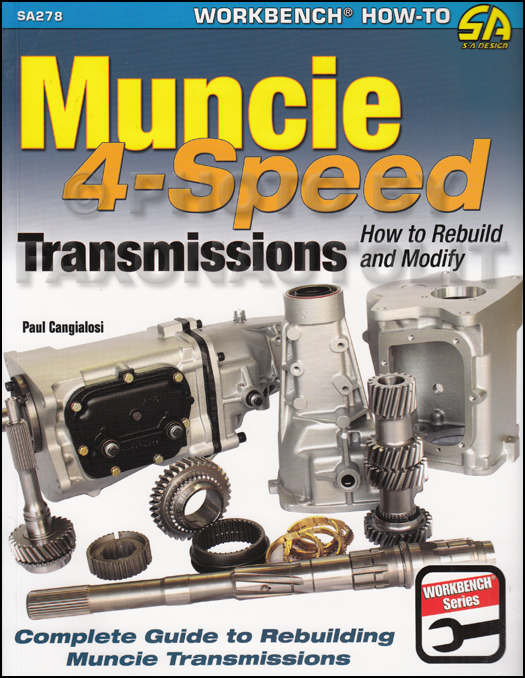 How to Rebuild and Modify Muncie 4-Speed Manual Transmission 1963-1974 GM