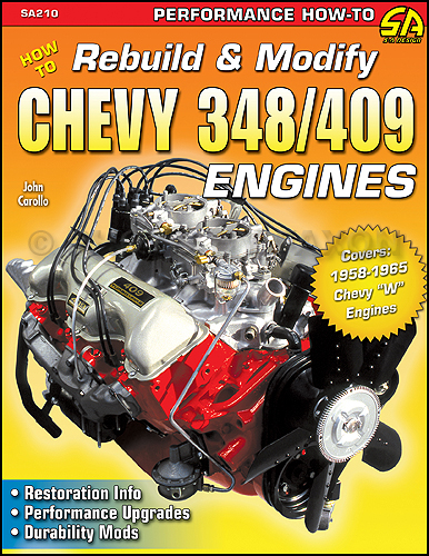 How to Rebuild and Modify Chevy 348 and 409 Engines