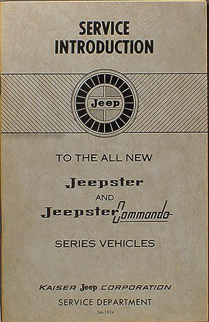 1967-1971 Jeepster & Commando Shop Manual Original