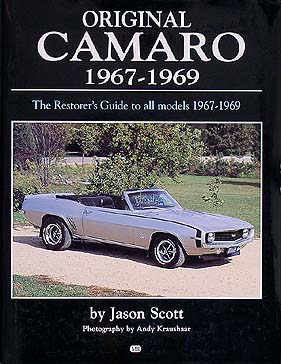 1967-1969 Chevrolet Camaro Originality Guide