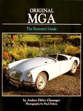 MGA Restorer's Guide to Originality 1955-1962