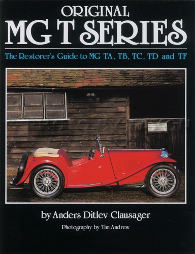 Restorer's Guide to Originality MG T Series Midget TA TB TC TD TF