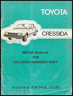 1983 Toyota Cressida Electrical Wiring Diagram Original