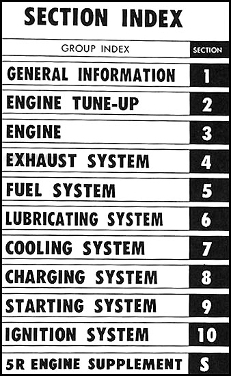 1968 1969 toyota corona crown stout engine repair shop manual 5r rh faxonautoliterature com Toyota 22R Engine Parts Diagram Toyota 22R Engine