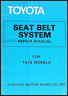 1974 Toyota Mark II Elec. Wiring Repair Manual Original No. 98110