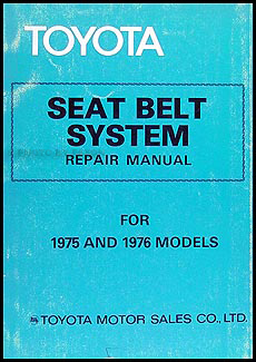 1975-1976 Toyota Mark II Elec. Wiring Repair Manual Original No. 98134
