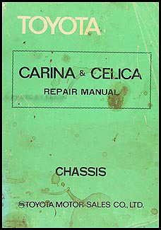 1976-1977 Toyota Celica Chassis Repair Manual Original No. 98143
