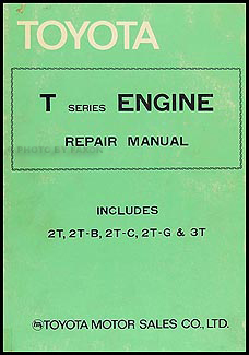 1980 Toyota Corolla Engine Repair Manual Original No. 98311