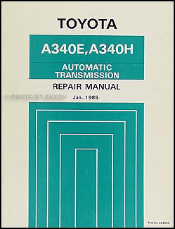 1985 Toyota Pickup and Crown Automatic Transmission Overhaul Manual