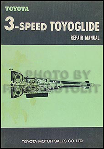 1968-1971 Toyota Crown Corona Mark II Auto Transmission 3 Speed Repair Shop Manual