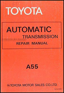 1980-1981 Toyota Tercel Automatic Transmission Repair Manual Original